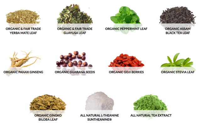 CogniTea Ingredients