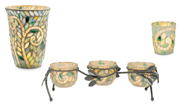 PartyLite Vine Mosaic Collection