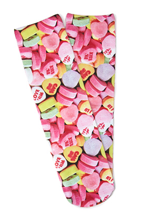 Candy Hearts Socks Forever 21