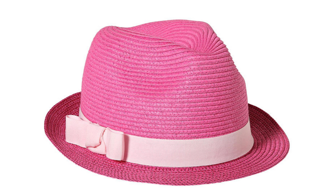 Joe Fresh Girls Pink Fedora