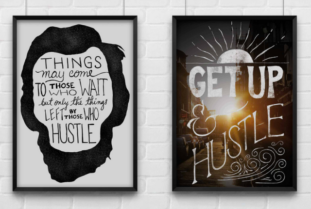 Print Anthology Hustle Prints