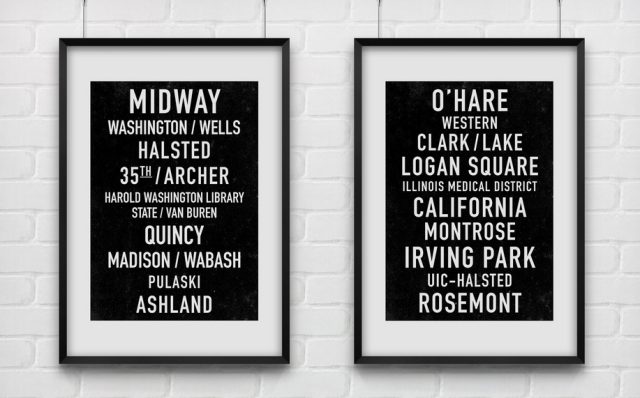 Print Anthology Subway Prints