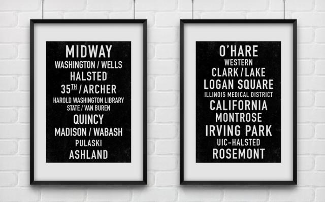 Print Anthology Subway Prints