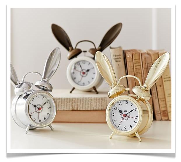 Bunny Alarm Clocks
