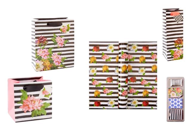Indigo Spring Gift Wrap Collection