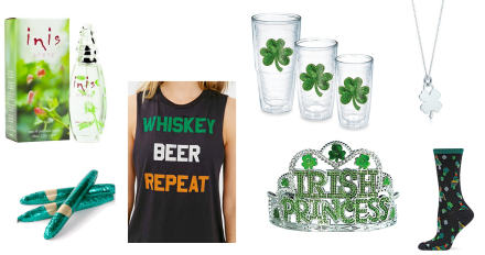 Irish I May St. Patrick's Day Gift Ideas