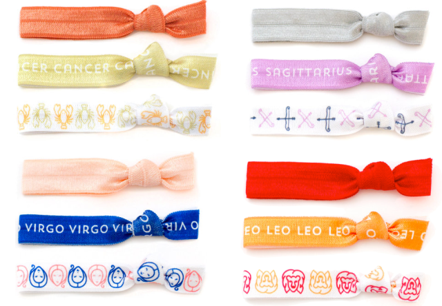 Zodiac Hair Ties