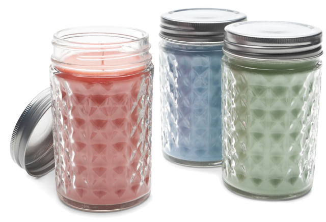 Canadian Women's Foundation Mason Jar Candles