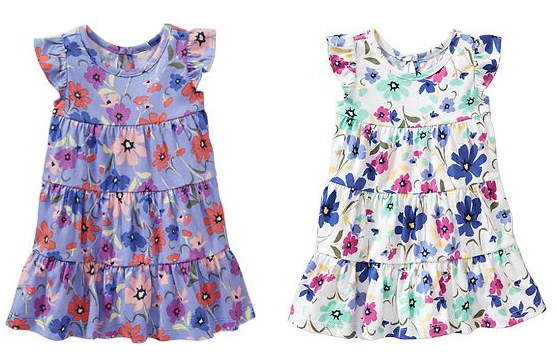 Floral Tiered Dresses Old Navy