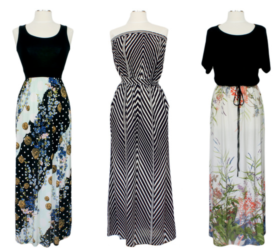 Ever Rose Maxi Dresses