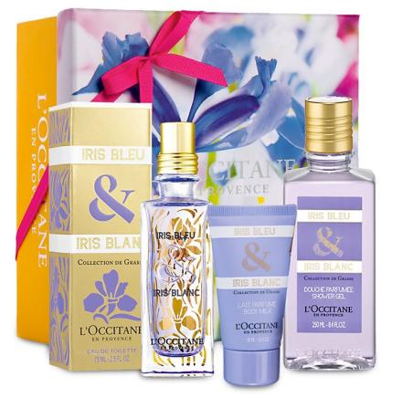 Iris Bleu Iris Blanc Star Gift