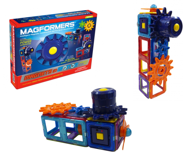 Magformers Magnets in Motion Sets