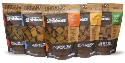 Slobbers Organic Dog Treats