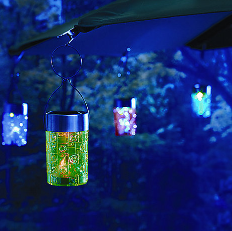 Solar Umbrella Clip Light