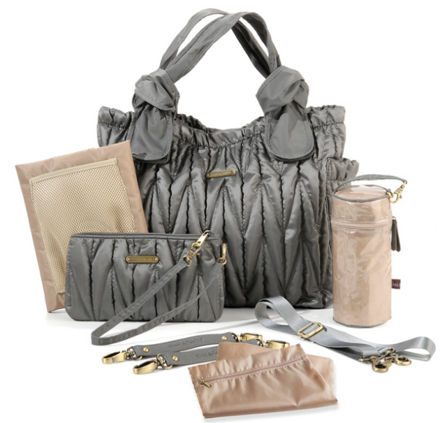 timi & leslie Marie Antoinette Bag Silver