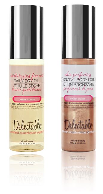 Be Delectable Daily Dry Oil and Bronzing Body Lotion