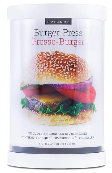 Epicure Burger Press