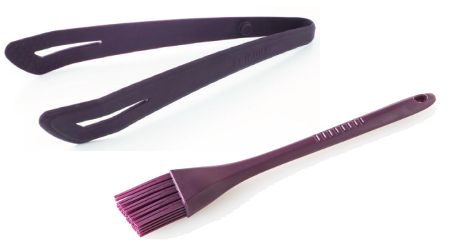 Epicure Grip and Grab and Silicon Basting Brush