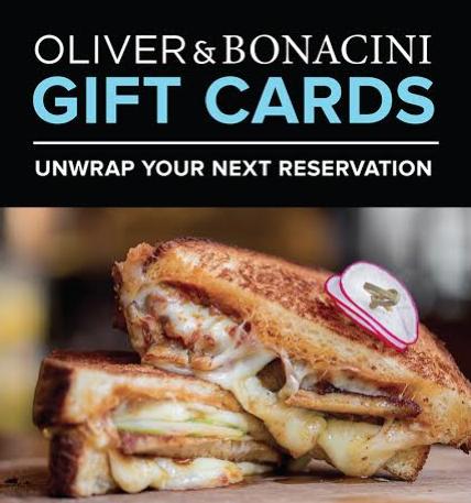 Oliver and Bonacini Gift Cards