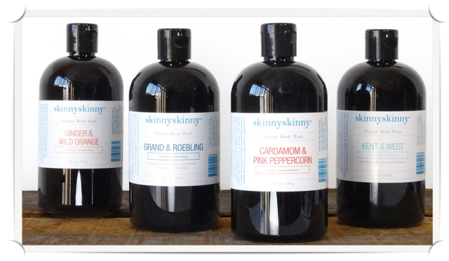 skinnyskinny aromatherapy body washes