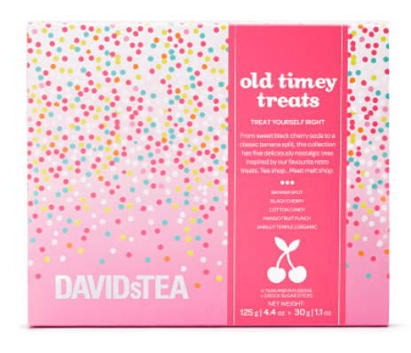 Old Timey Treats DAVIDsTEA