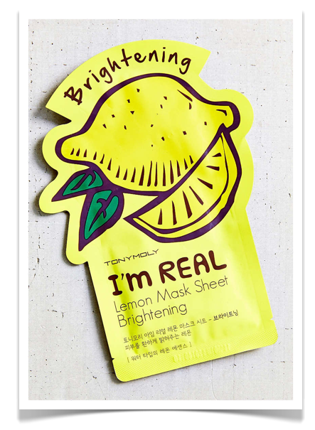 TONYMOLY I'm Real Brightening Lemon Mask