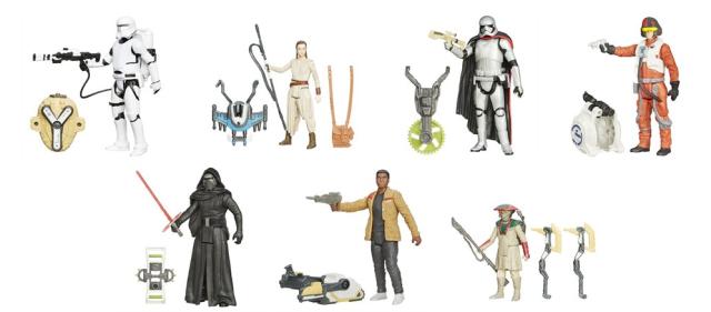 Star Wars Episode VII Figurines