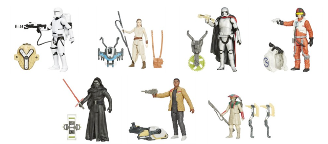 Star Wars Episode VII Figurines