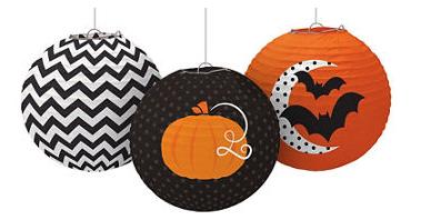 Modern Halloween Paper Lantern