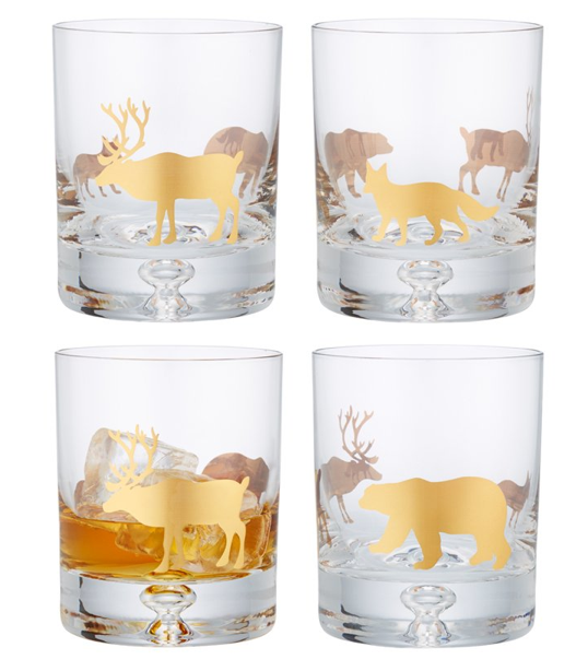 Woodland Bar Glasses Indigo