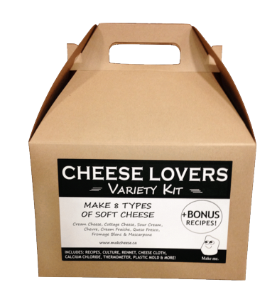 Cheese Lovers Variety Kit