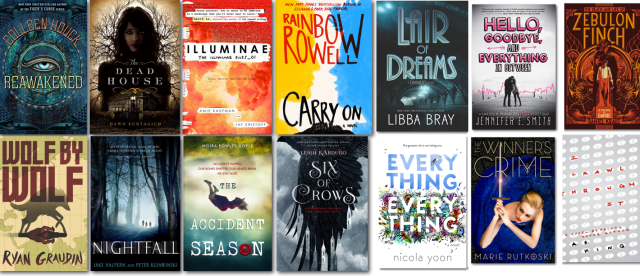 Holiday Reads YA 2015