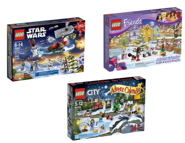Lego Advent Calendars 2015