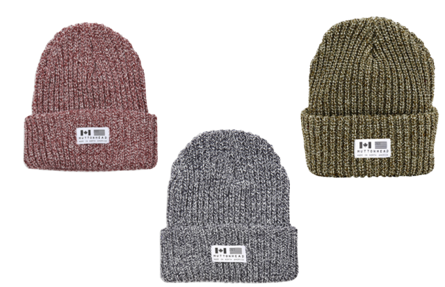 Muttonhead Chunky Knit Toques