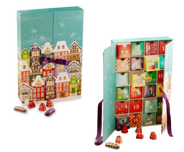 Purdy's Winter Village Advent Calendar