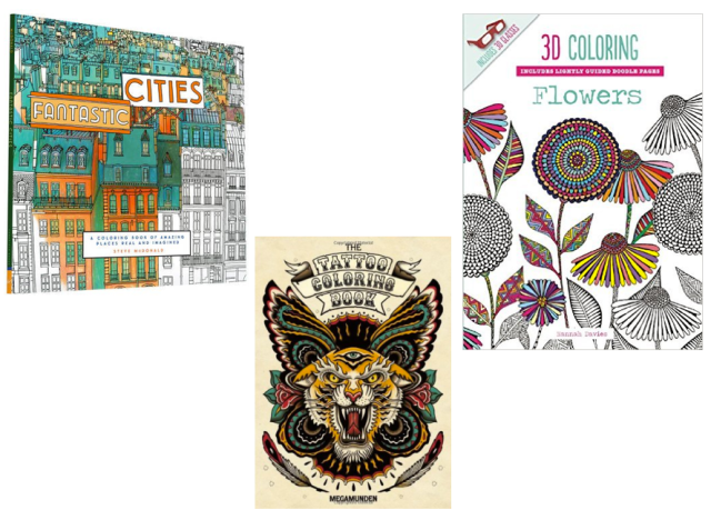 Raincoast Coloring Books for Adults