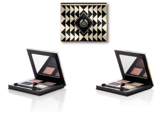 The Body Shop Eyeshadow Palettes
