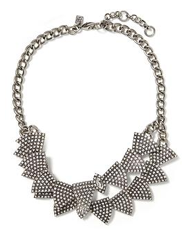 Banana Republic Sparkle Scales Necklace
