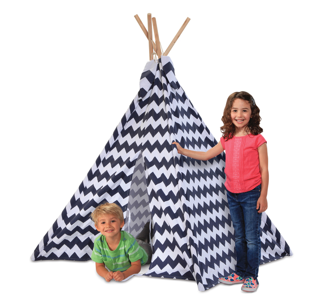 Discovery Kids Zigzag Teepee