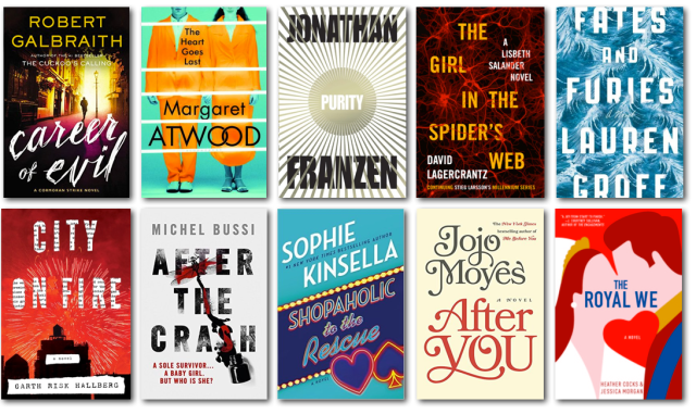 Holiday Reads Fiction 2015
