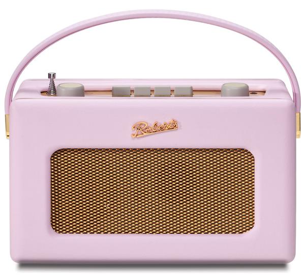 Roberts Radio 1950s Pink Radio