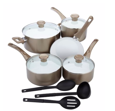 T-Fal Inspirations Ceramic Cook Set