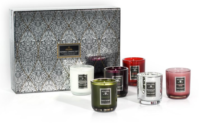 Voluspa 6-Votive Candle Set