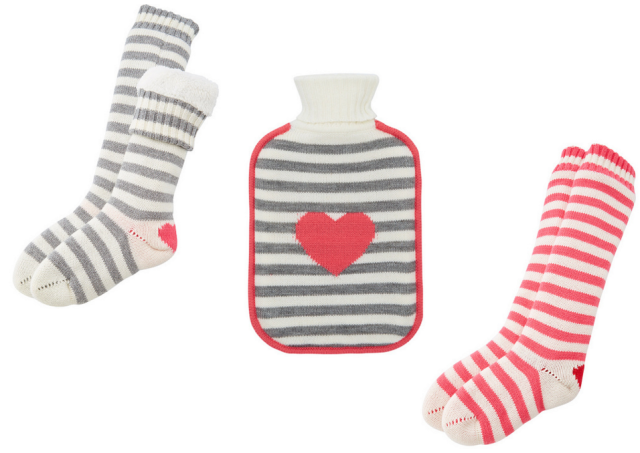 Indigo Valentine's Reading Socks