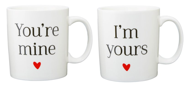 Mine and Yours Mugs
