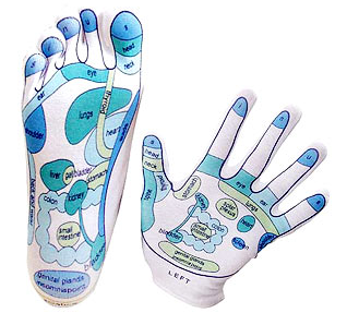 Reflexology Glove and Sock
