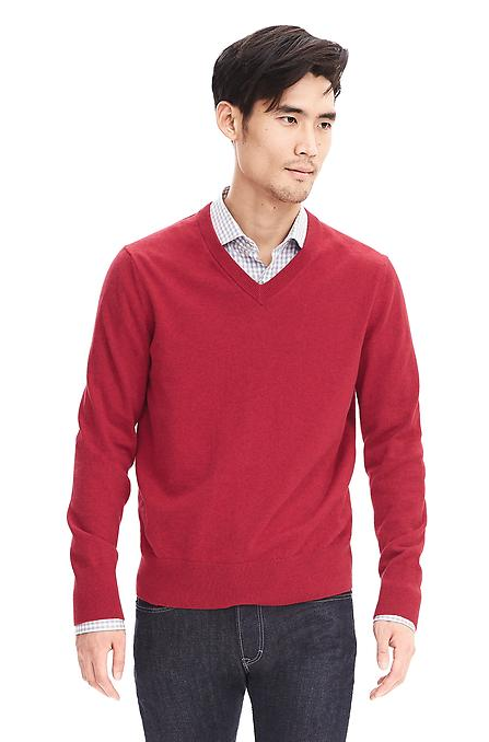 Banana Republic Red Sweater