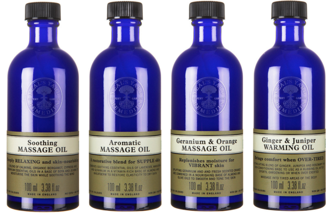 NYR Massage Oils