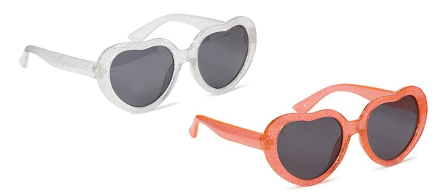 Old Navy Heart-Shaped Sunglasses