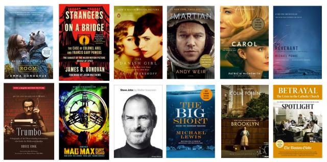 Oscar Books 2016